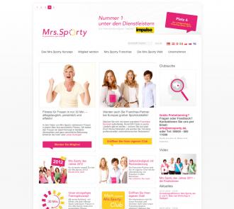Startseite von Mrs.Sporty