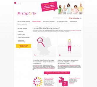 Mrs.Sporty für Mitglieder