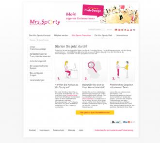 Mrs.Sporty für Franchise-Partner