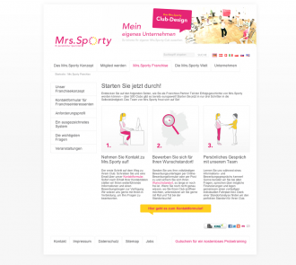 Mrs.Sporty für Franchise-Partner