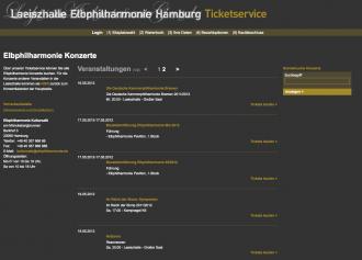 Elbphilharmonie Ticketshop